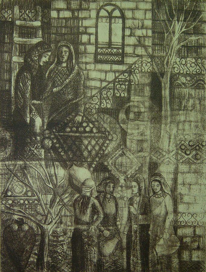 Old Digital Art - Old Oriental Story by Ousama Lazkani