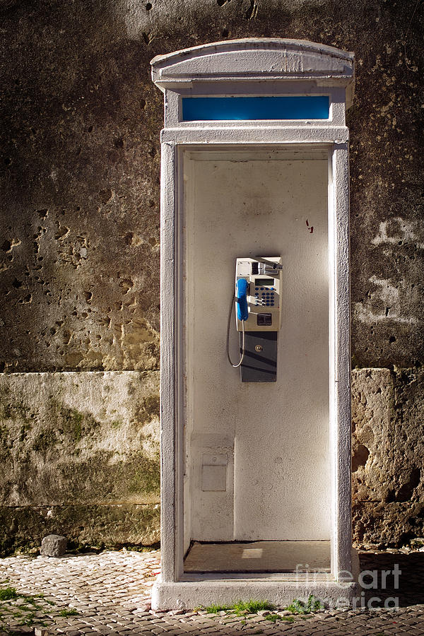 Old Phonebooth Photograph  - Old Phonebooth Fine Art Print