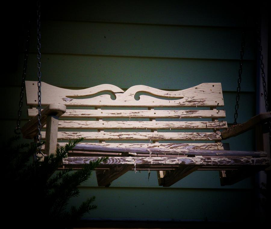 Old porch swing by joyce kimble smith for Old porch swing