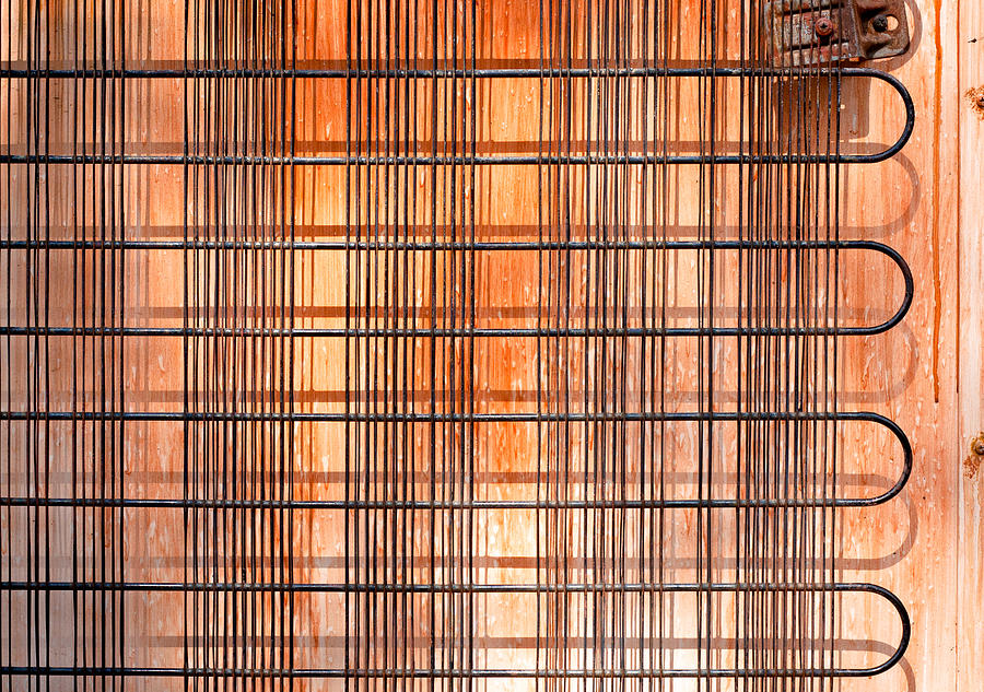 Abstract Photograph - Old  Refridgerator by Tom Gowanlock