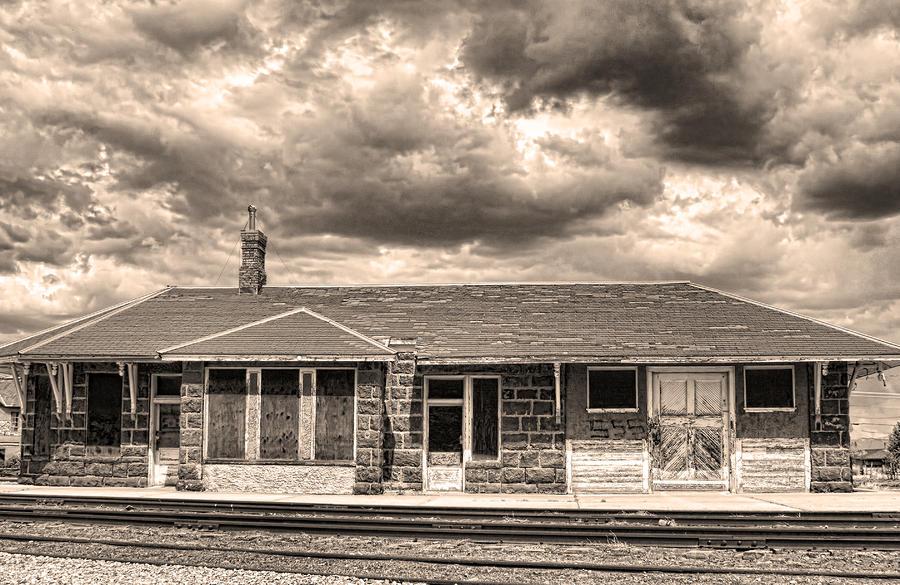 Old Rio Grande Train Stop Photograph