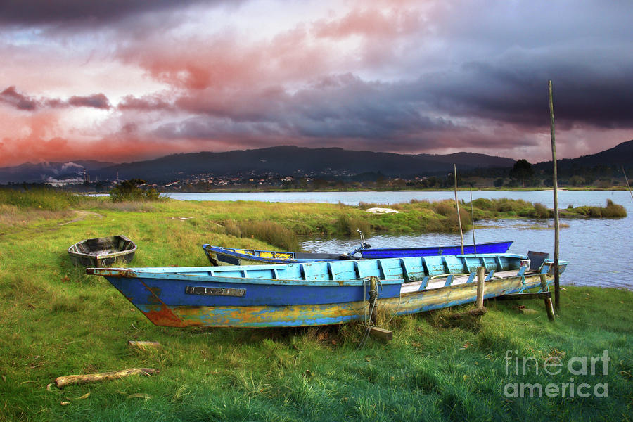 Old Row Boats Photograph  - Old Row Boats Fine Art Print