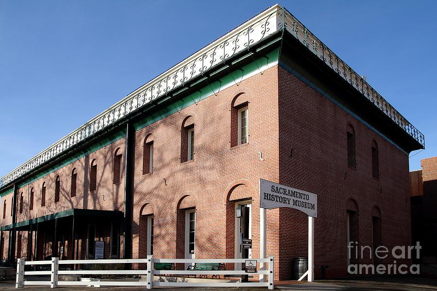 Old Sacramento California . Sacramento History Museum . 7d11700 Photograph