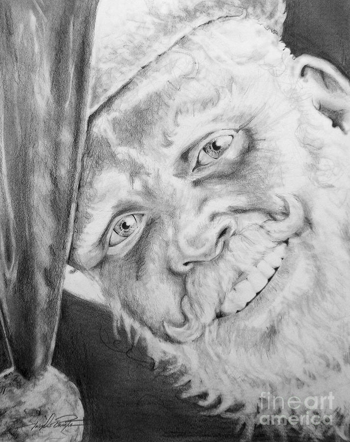Old Saint Nick  Drawing