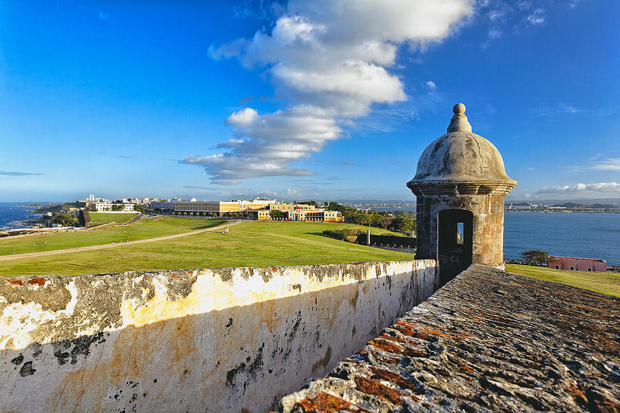 Old San Juan Vista Photograph  - Old San Juan Vista Fine Art Print