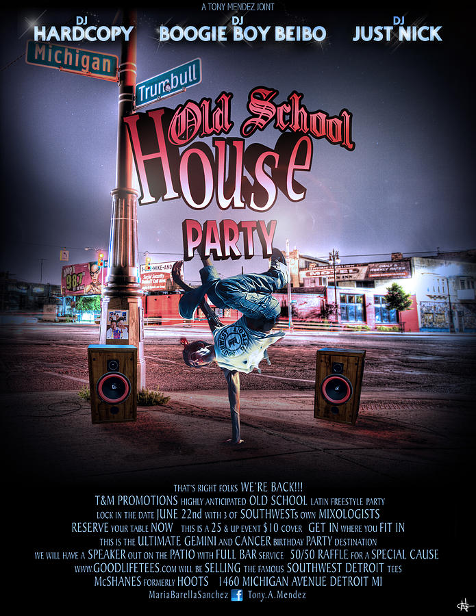 Old School House Party 2012 Photograph