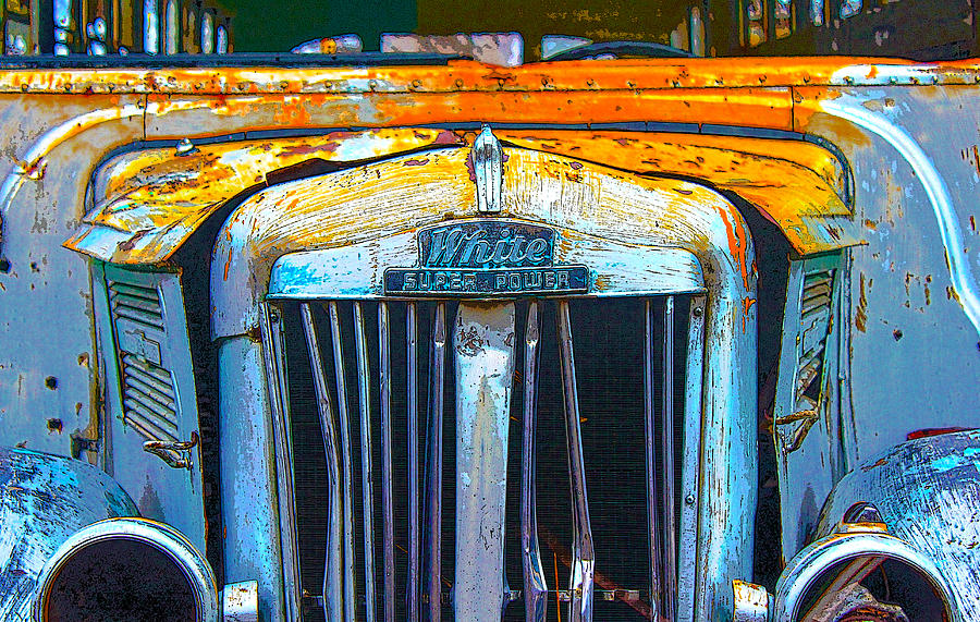 Old Schoolbus Photograph  - Old Schoolbus Fine Art Print