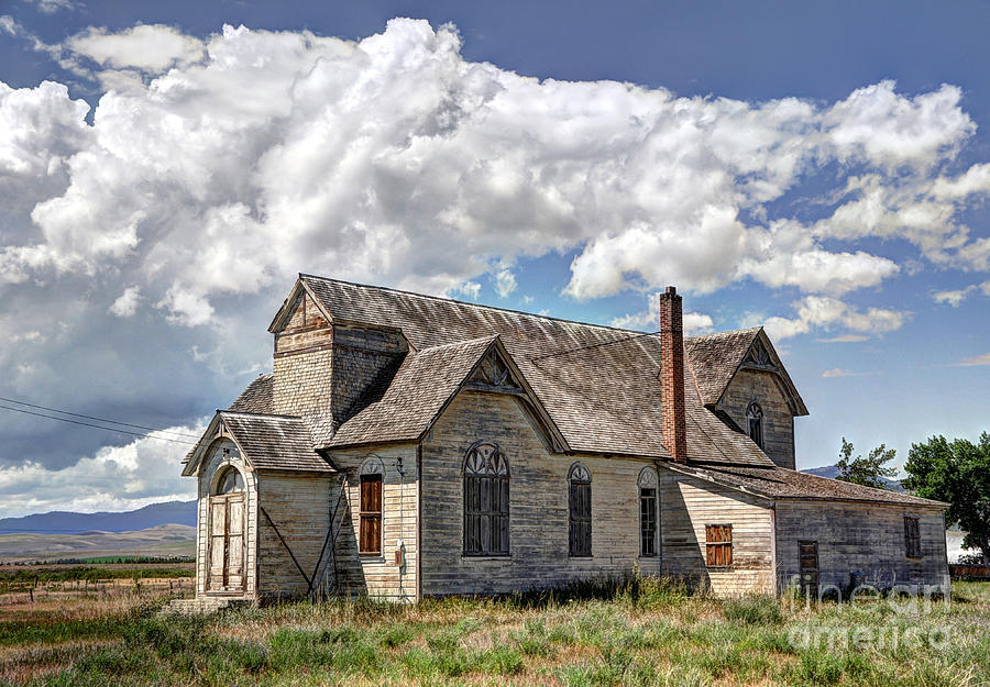Old Schoolhouse - Ovid - Idaho Photograph
