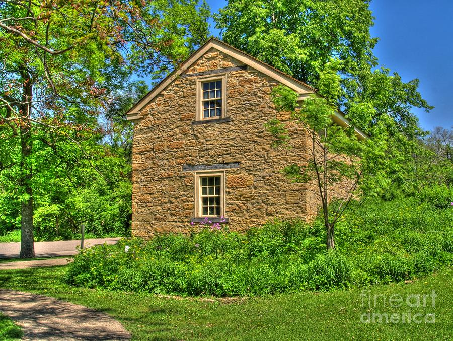 House Photograph - Old Stone House I by Jimmy Ostgard