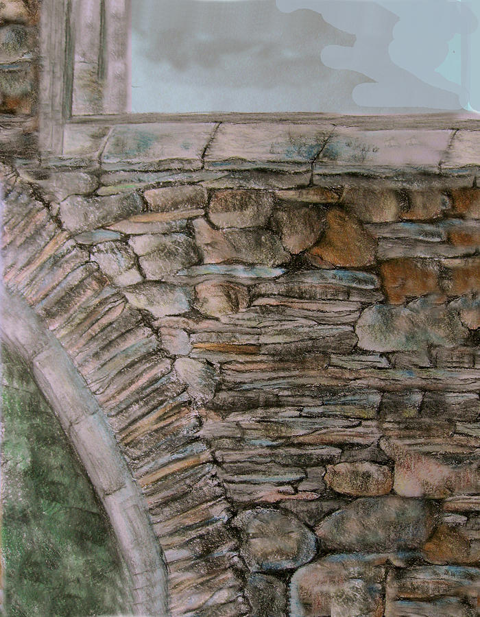 Old Stonework Drawing