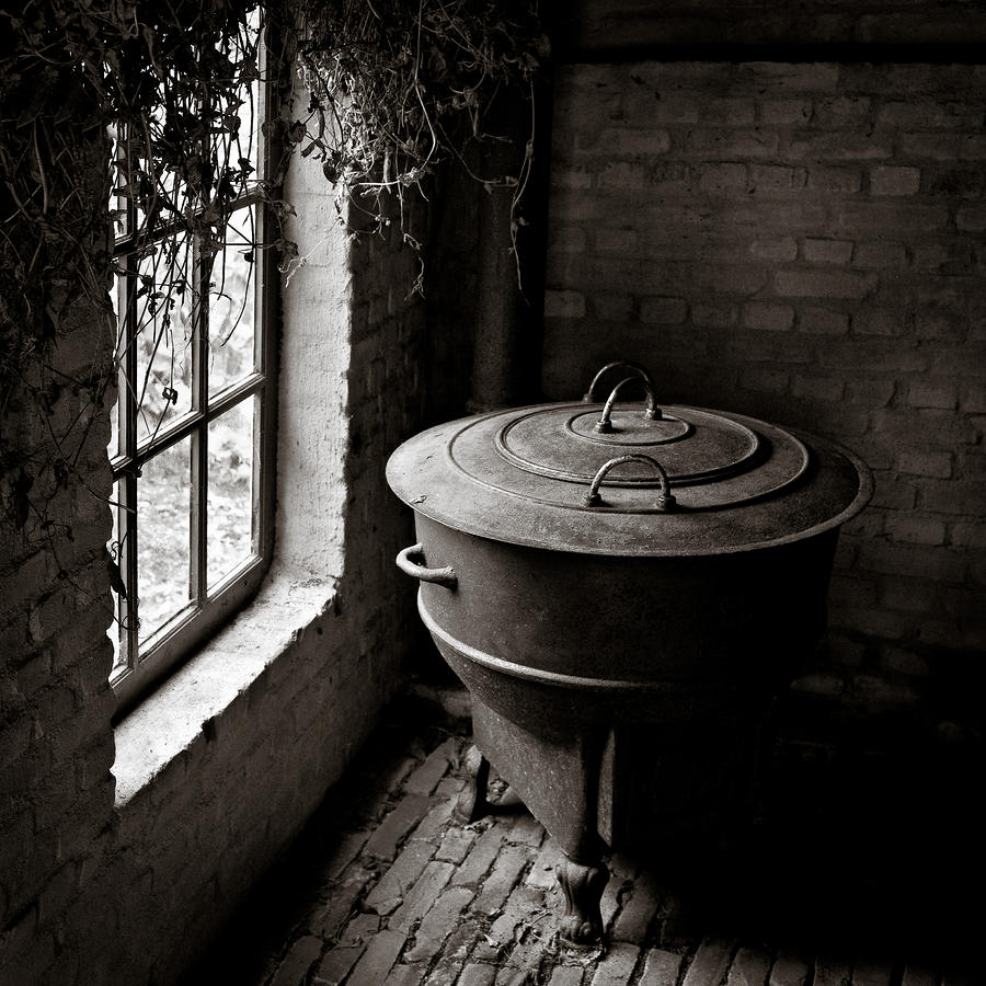 Old Stove Photograph