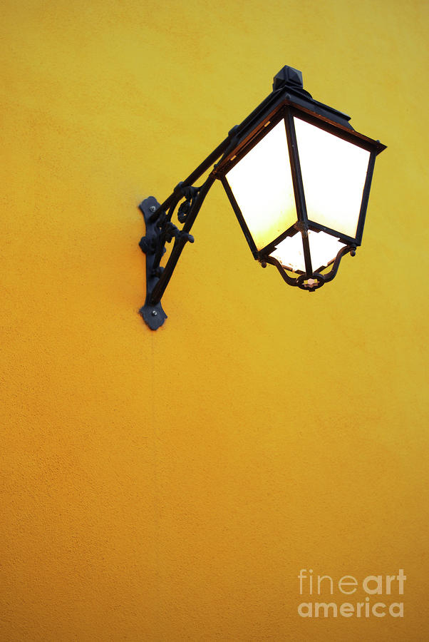 Old Street Lamp Photograph  - Old Street Lamp Fine Art Print