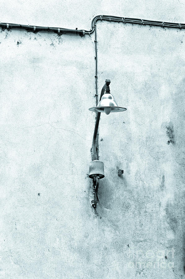 Street Lamp Photograph - Old Street Lamp by Silvia Ganora