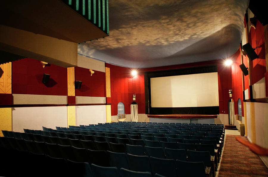 Old Theater Interior 1 Photograph