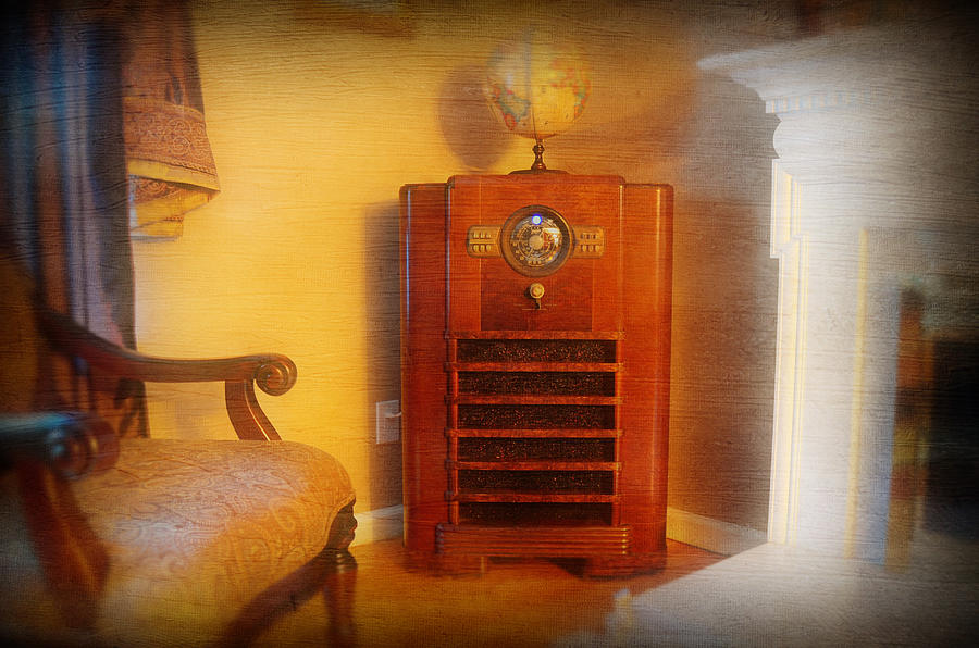Old Time Radio Photograph  - Old Time Radio Fine Art Print