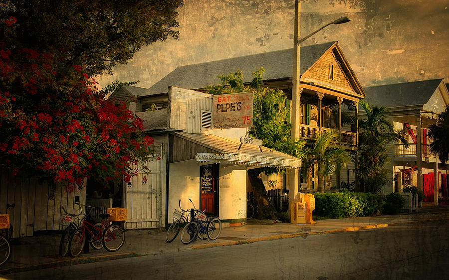 Old Town -  Key West Florida Photograph  - Old Town -  Key West Florida Fine Art Print