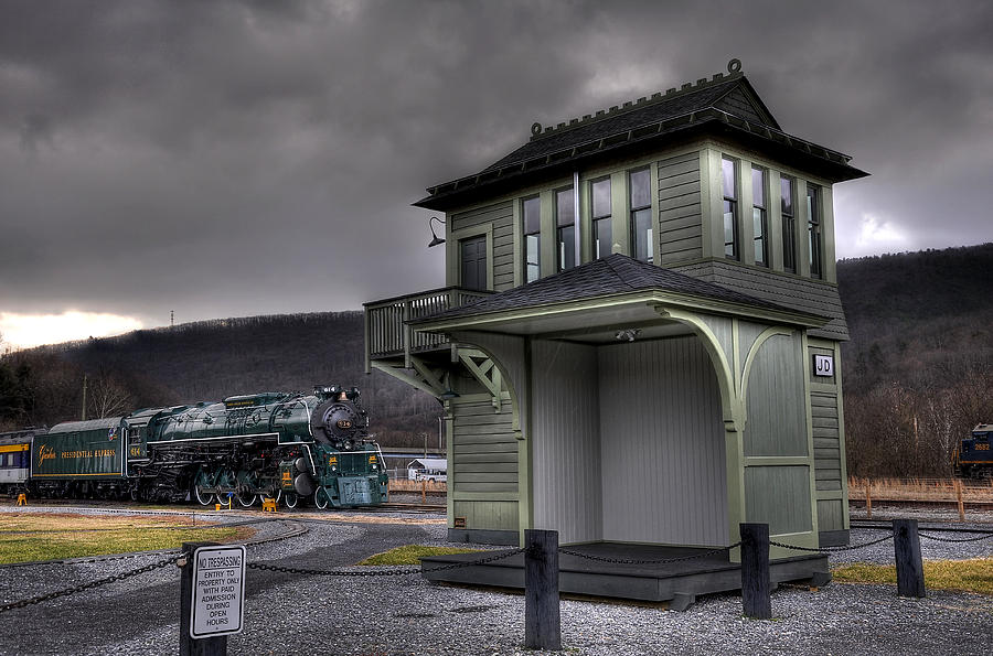 Old train station photograph old train station by todd hostetter