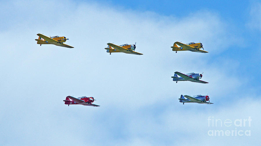 Old War Planes In Formation is a photograph by Randy Harris which was ...