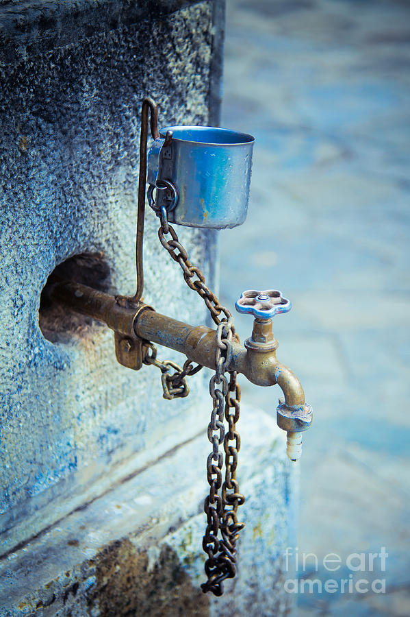 Old Water Tap Photograph  - Old Water Tap Fine Art Print