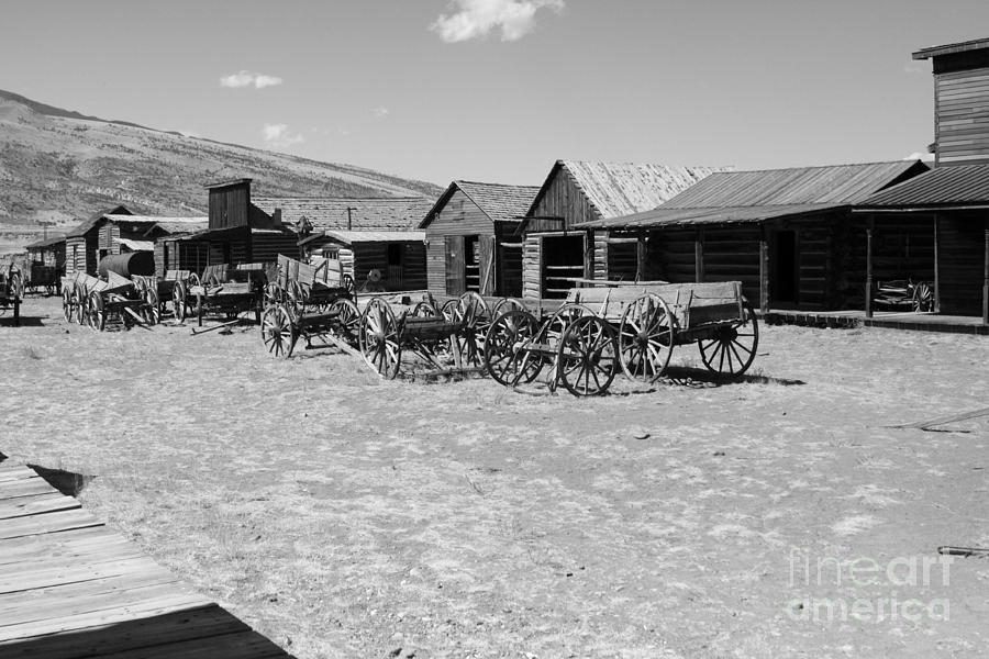 Old West Photograph  - Old West Fine Art Print