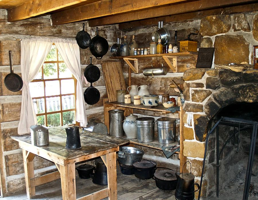 old west kitchen photograph by mike ricci