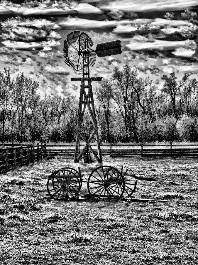 Old Windmill 2 Photograph  - Old Windmill 2 Fine Art Print