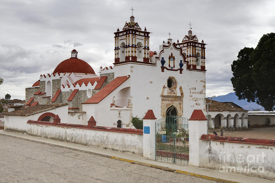 Old World Church Photograph