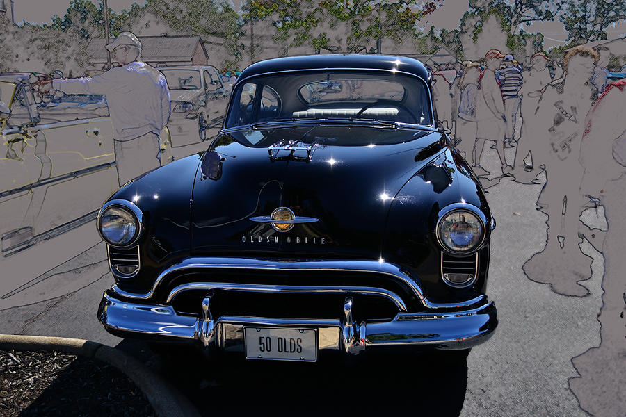 Oldsmobile Photograph - Olds 50 by Larry Bishop