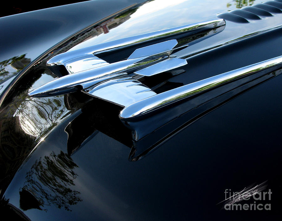 Olds 88 Hood Ornament  Photograph