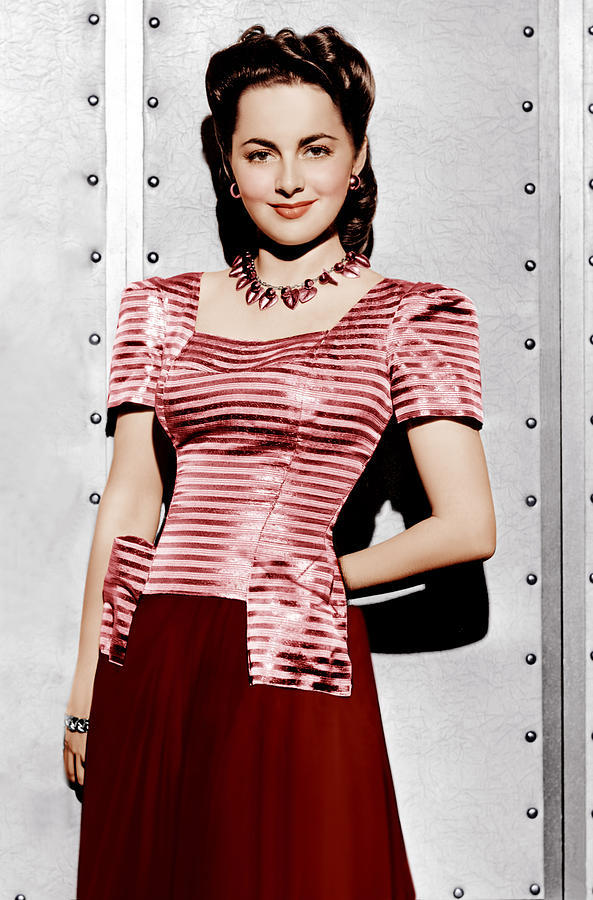 Olivia De Havilland, Ca. 1942 Photograph  - Olivia De Havilland, Ca. 1942 Fine Art Print