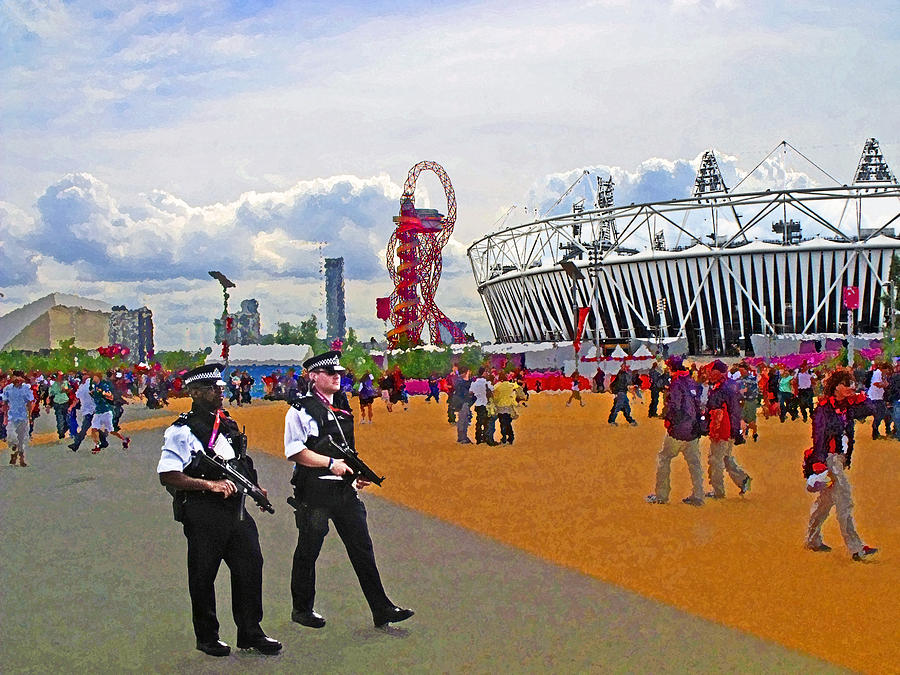 Olympic 2012 Stadium Security Photograph