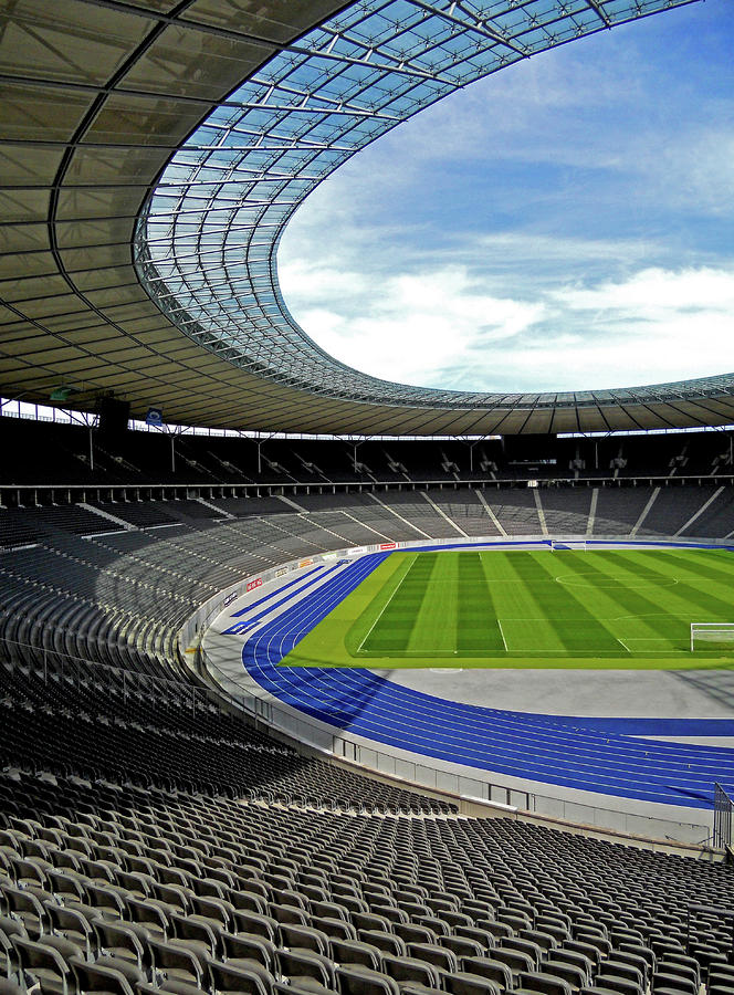 Olympic Stadium - Berlin Photograph  - Olympic Stadium - Berlin Fine Art Print