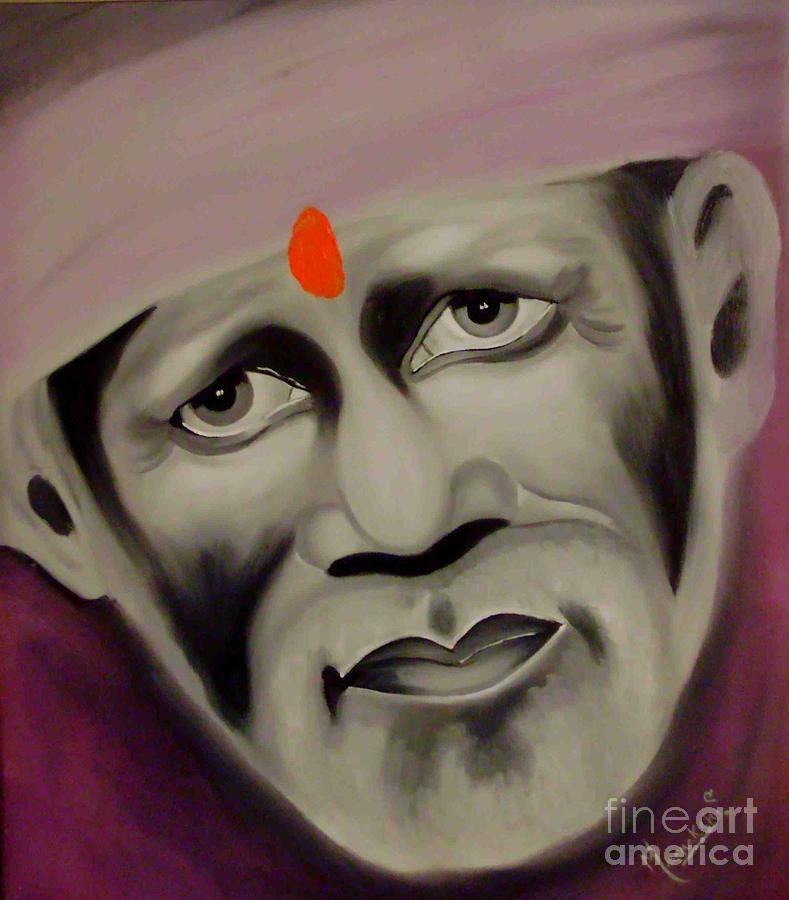 Om Sai Ram Painting