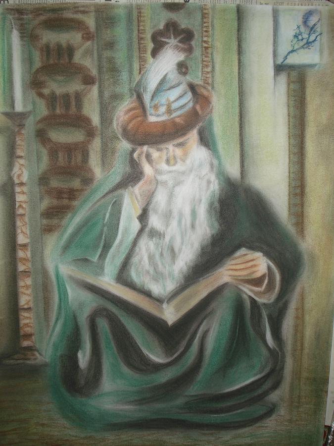 Omar Khayyam Pastel