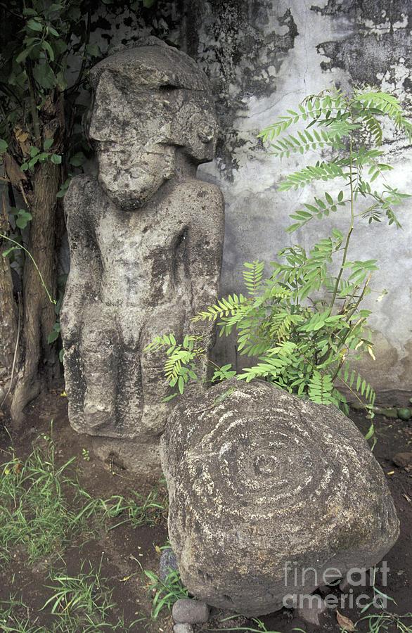 Ometepe Sculptures Nicaragua Photograph
