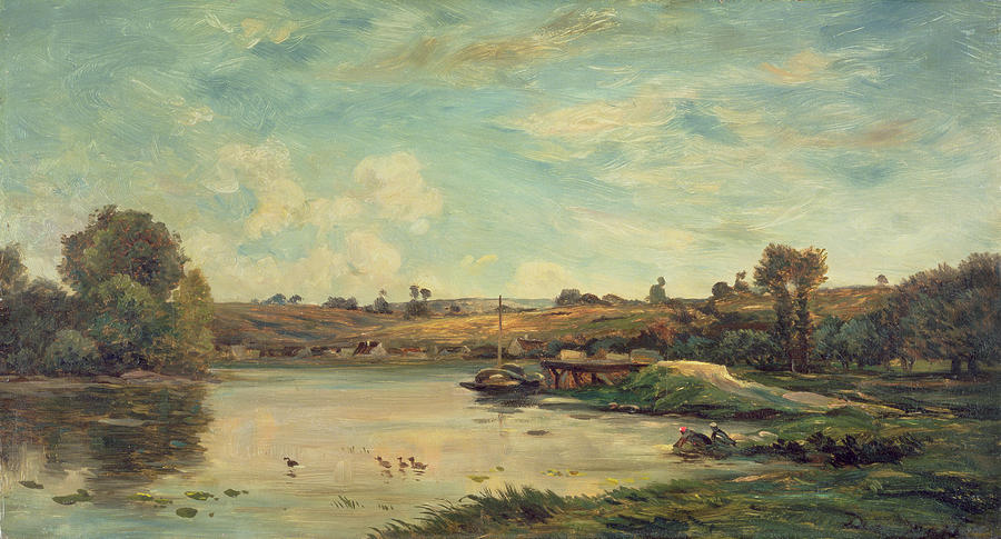 On The Loire Painting