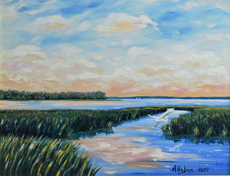 On The May River Painting