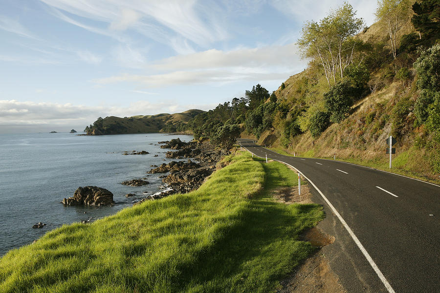 On The Road Around The Coromandel Photograph