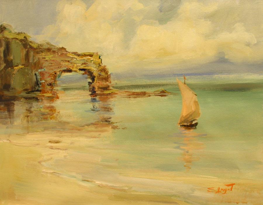 On The Shore Painting  - On The Shore Fine Art Print