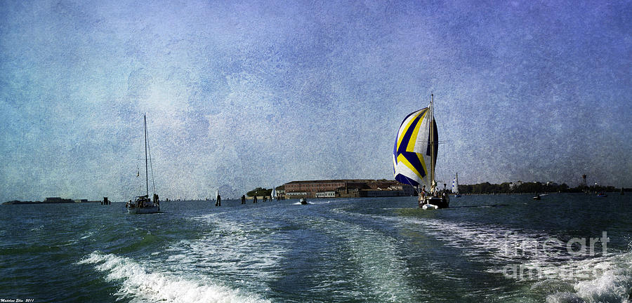 On The Water 2 - Venice Photograph  - On The Water 2 - Venice Fine Art Print
