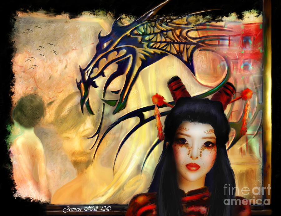 Once Upon Another Time Digital Art  - Once Upon Another Time Fine Art Print