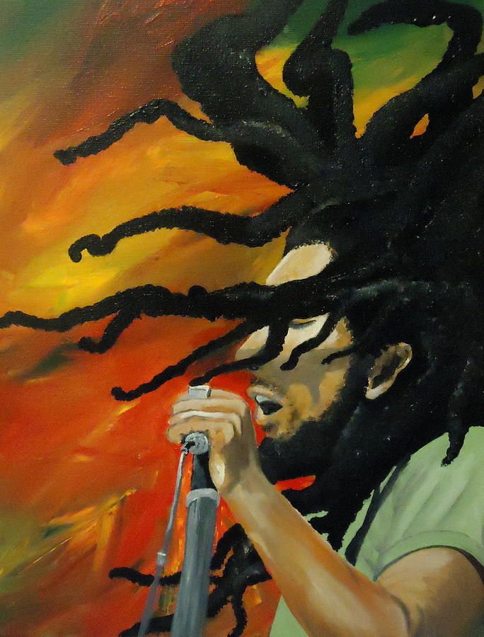 One Love Painting  - One Love Fine Art Print