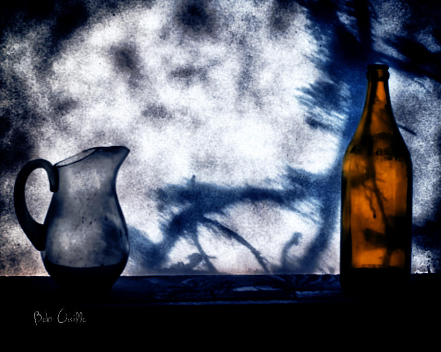 One Red Bottle Photograph  - One Red Bottle Fine Art Print