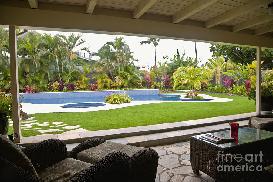 Open Air Luxury Patio Photograph