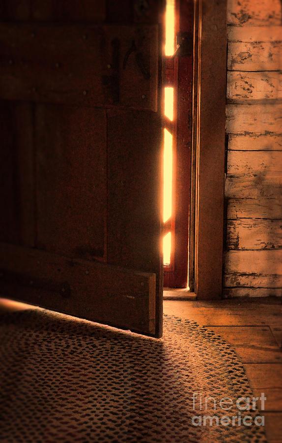 Open Cabin Door Photograph By Jill Battaglia
