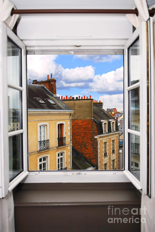 Open Window Photograph