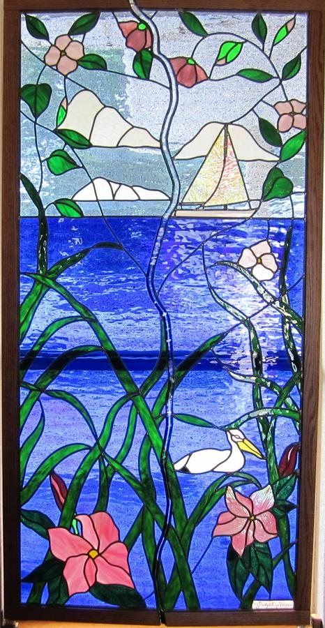 Opening Window Of Beauty Glass Art