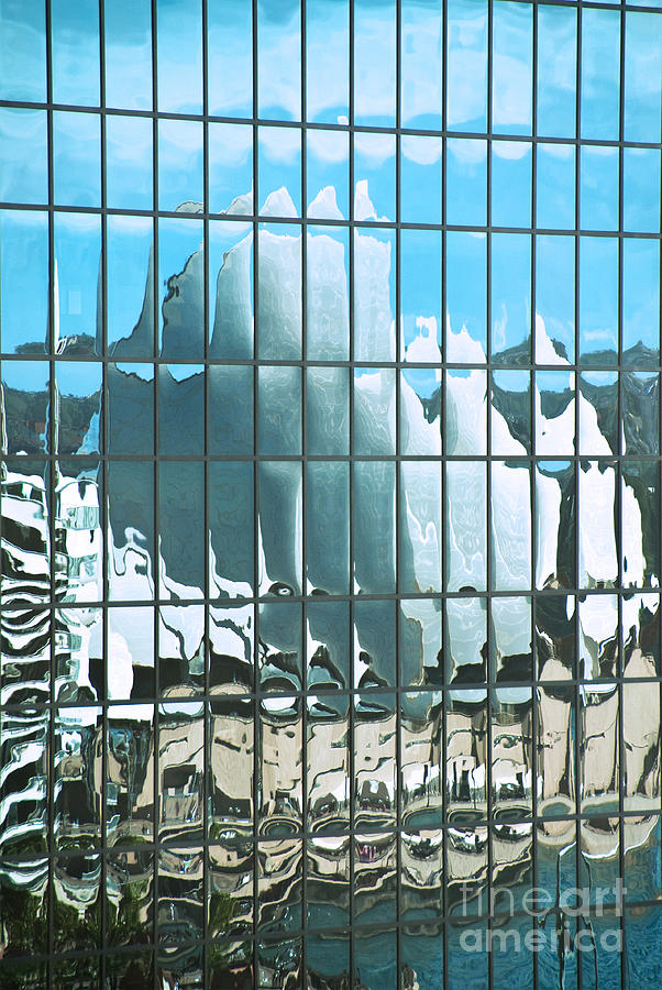 Opera House Reflection Photograph  - Opera House Reflection Fine Art Print
