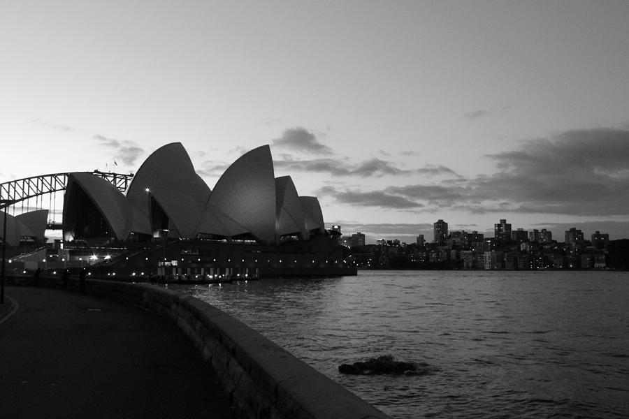 Opera House - Sunset Photograph
