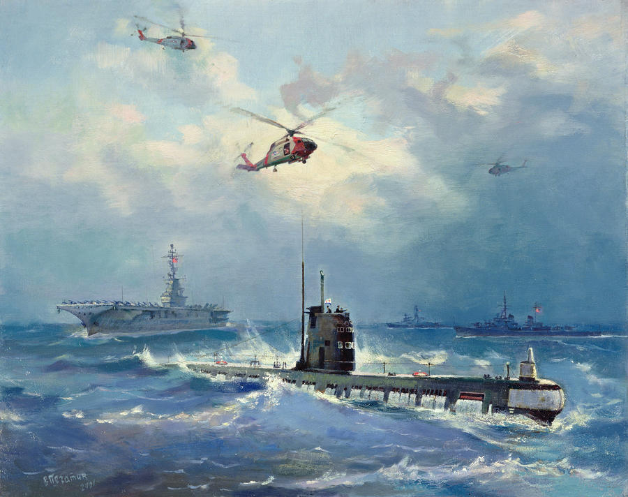 Operation Kama Painting  - Operation Kama Fine Art Print